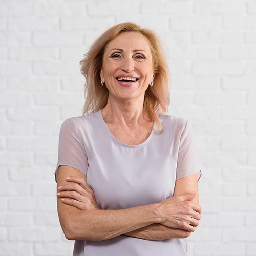 Menopause as a painless transition into a stage of wisdom.